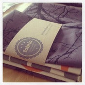 Image of Fabric bundle - 3 pack 'dipped dots & winter nest'.