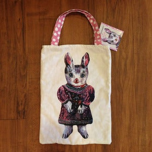Image of Rabbit mini tote by Nathalie Lt *NEW*