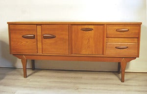 Image of ENFILADE SCANDINAVE EN TECK ANNES 60 - REF.1279