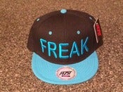 Image of Freak Snap Back (Black & Blue)