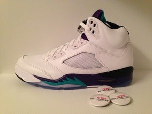 "Image of Air Jordan V (5) ""Grape"""