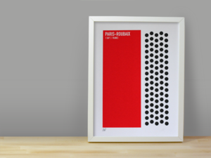 Image of PARIS-ROUBAIX SCREENPRINT