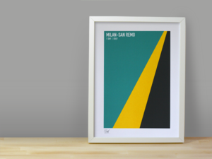 Image of MILAN SAN-REMO SCREENPRINT