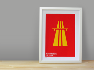Image of E3 HARELBEKE SCREENPRINT