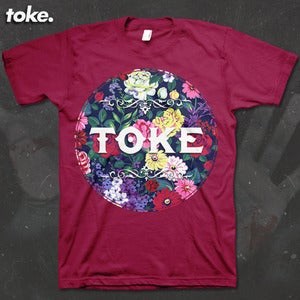 Image of Toke - Floral - Tee OR Vest