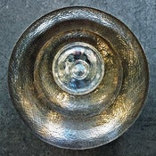 Image of medium hammered silver bowl