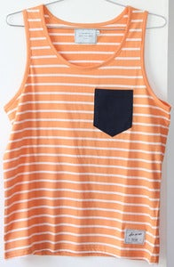 Image of SEN NO SEN tank marinire orange summer