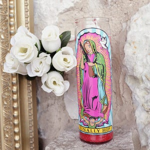 Image of Lady of Guadalupe Candle