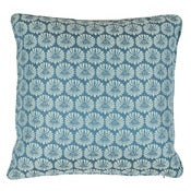 "Image of Scalamandre Collection- Castleton Blue 24"" Pillow"