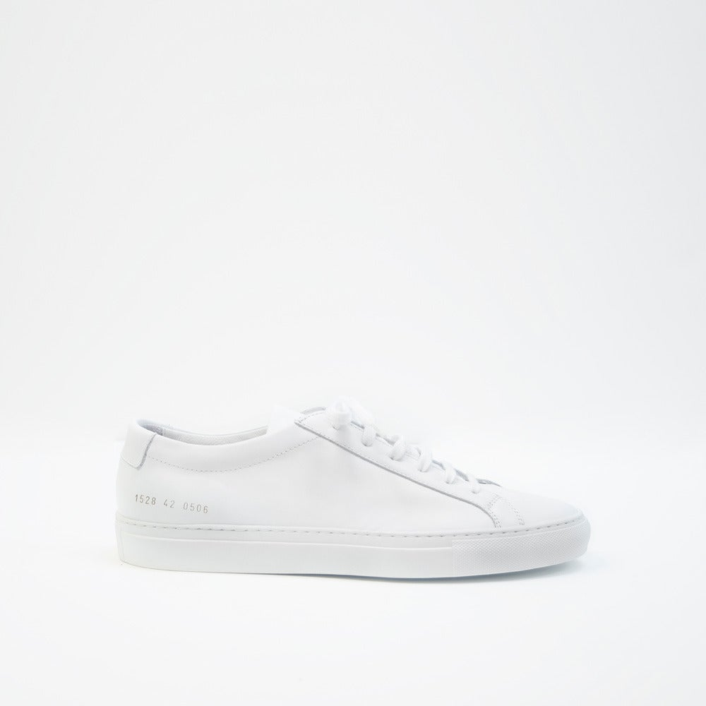 Image of Common Projects Achilles Low - WHITE
