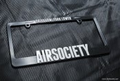 Image of AirSociety License Plate Frame