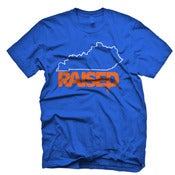 Image of LIMITED EDITION KY Raised in KY Blue, White & Orange