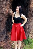 Image of Autism Awareness Red Circle Skirts - READY TO SHIP!