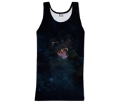 Image of Wild galaxy cat tank top
