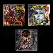 Image of KRAANIUM / SEXCREMENT / ANTROPOFAGUS CDs