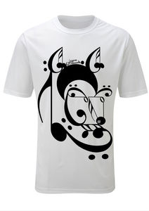 Image of LG Music T-Shirt Black/White 2
