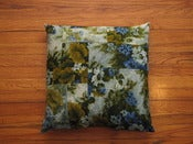 Image of disruptive pattern pillow