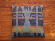 Image of southwestern camp blanket pillow