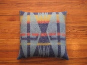 Image of southwestern camp blanket pillow 2
