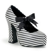 Image of Demonia Stripe Demon Platform Heels