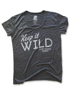 Image of KEEP IT WILD LOOSE T | ASH HEATHER