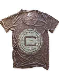 Image of OLDS CREST LOOSE T | DIRTY HEATHER