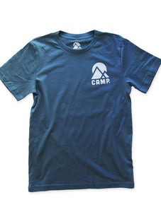 Image of THE CAMPERS TSHIRT | STEEL BLUE