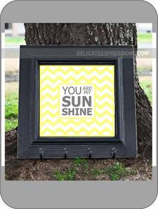 Image of Chevron Pattern: You are my Sunshine