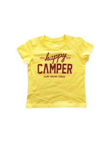Image of HAPPY CAMPER TODDLER T | YELLOW