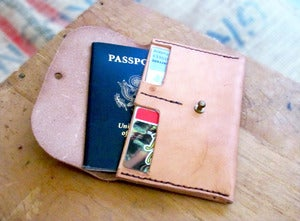 Image of Passport Travel Wallet / Made in USA