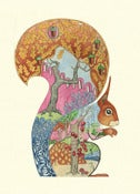 Image of Red Squirrel - Card