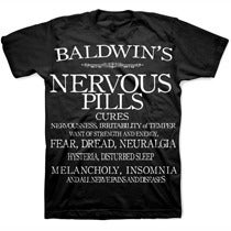 Image of NERVOUS PILLS tee shirt