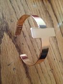 Image of Gold Cross Cuff