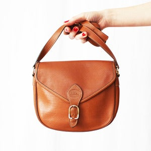 Image of Sac Longchamp marron caramel