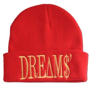 Image of Big DREAMS Red Beanie