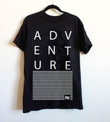 Image of ADVENTURE Black T-Shirt