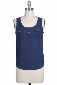 Image of Catherine Studded Tank