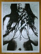 Image of 'faith flesh blood' print