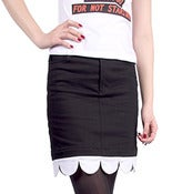 Image of GERLAN JEANS X MINNIE MOUSE &quot;In Bloomers&quot; Mini Skirt