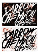 Image of Darrow Chemical Company Bloody Logo vinyl sticker (Black or White)