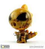 "Image of DeKorner x Dynamite Rex – Exclusive 3"" Smoke + Yellow Resin Raaar!"