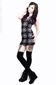 Image of Baphomet Pentagram Dress