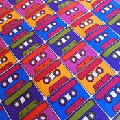 Image of Mixtape Fabric by Curly Pops