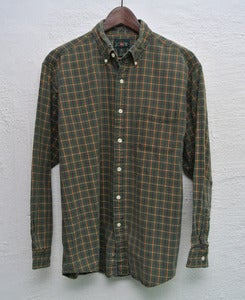 Image of J.crew plaid shirt (L)