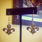 Image of LSU Fleur de Tigre Earrings