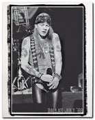 Image of Axl Rose Live canvas