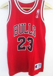 Image of Vintage Champion Jordan Jersey - Red