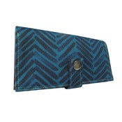 Image of BrushHatch ) Pocketbook Slash Checkbook Holder