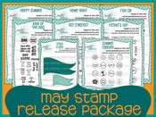 Image of May 2013 Stamp Release Package
