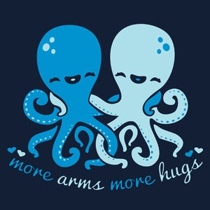 Image of More Arms More Hugs Tee